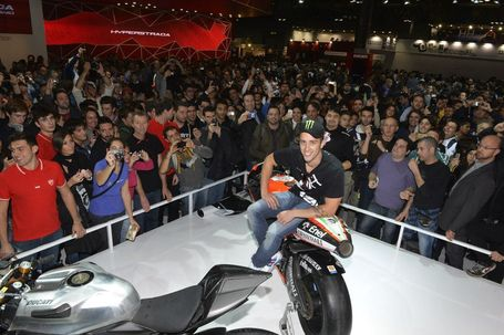 Ducati Riders visit at the Milan EICMA Show Ducati Stand | Ducati Facebook | Ductalk | Scoop.it