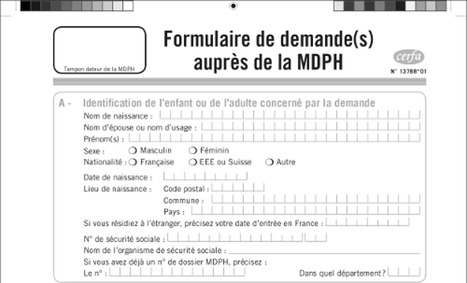Allocation d'Education de l'Enfant Handicapé (AEEH) | Autisme Infantile | Autisme | Scoop.it