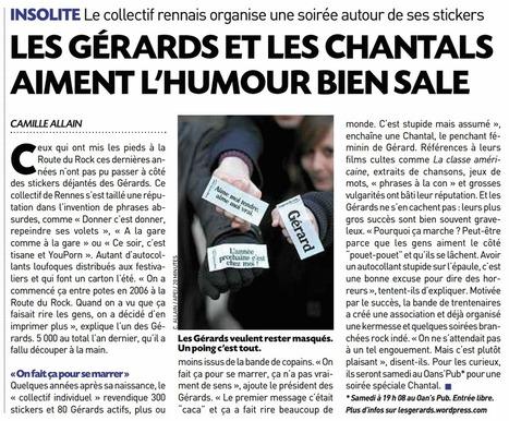 Les Gérards et Les Chantals aiment l'humour bien sale | 20 MINUTES | Les Gérards | Scoop.it