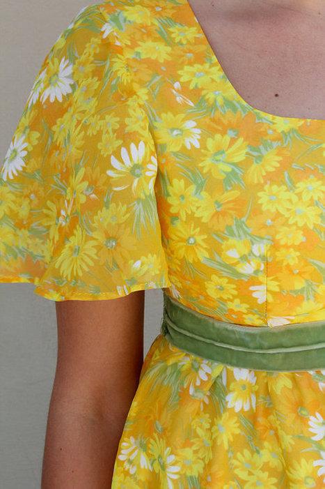 1970s Vintage Dress | Vintage! | Scoop.it