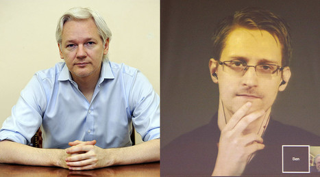 Assange says Snowden's escape to Russia was his idea | Saif al Islam | Scoop.it