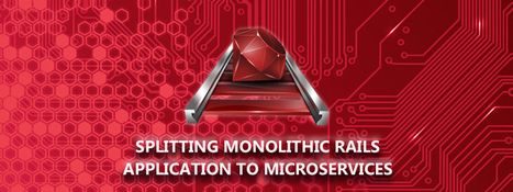 Splitting Monolithic Rails Application to Microservices | Software Solutions | Scoop.it