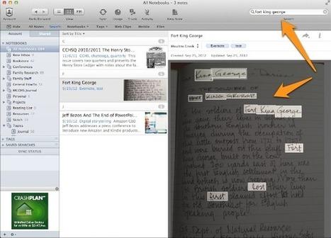 Evernote Handwriting Recognition | Moultrie Creek Gazette | Chroniques d'antan et d'ailleurs | Scoop.it