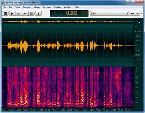Ocenaudio, un completo editor de audio gratuito y multiplataforma | Administracion Redes | Scoop.it