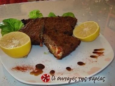 Μπιφτέκια γεμιστά | φαγητα | Scoop.it