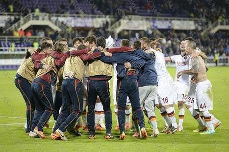 Tweet from @OfficialASRoma | Champions League | Scoop.it