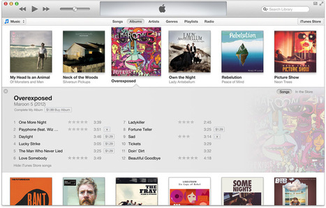 Digital music sales drop for the first time since the iTunes Store's ...   interlinc   Scoop.it