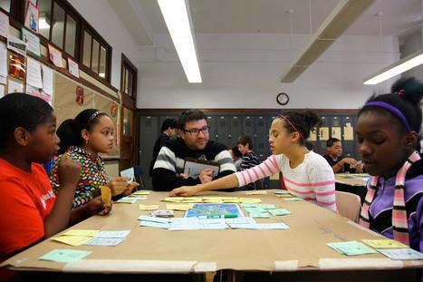 Quest to Learn | Institute of Play | Digitale Spiel- und Lernwelten | Scoop.it