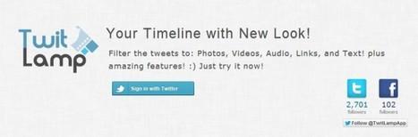 TwitLamp, filtrando el contenido de tu feed en Twitter   recursos educativos didácticos y rehabilitadores para alumnos con TDA   Scoop.it