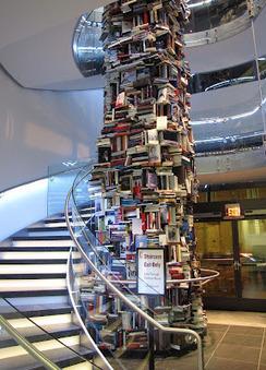 Fresh Pics: Three-Story Tower of Abraham Lincoln Books | BiblioLivre | Scoop.it