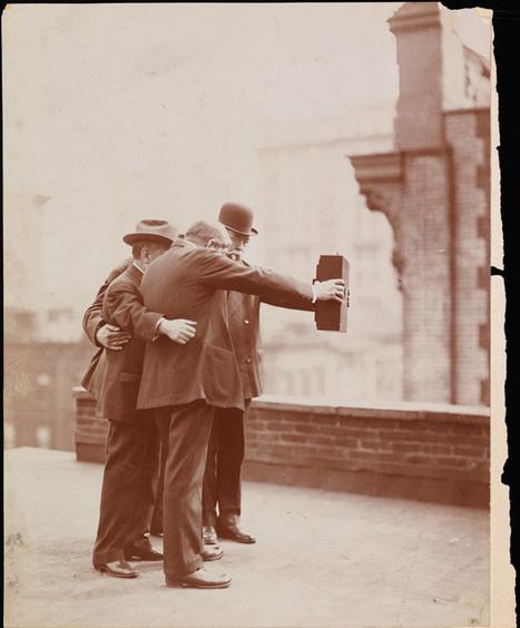 The First Selfie circa 1920 | men's fashion | Scoop.it