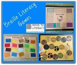 Braille Literacy Games | Paths to Literacy | Literacy | Scoop.it