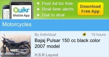 India's Largest Online Classifieds Site Quikr, Raises $90M Led By Sweden's Kinnevik   Intresting   Scoop.it