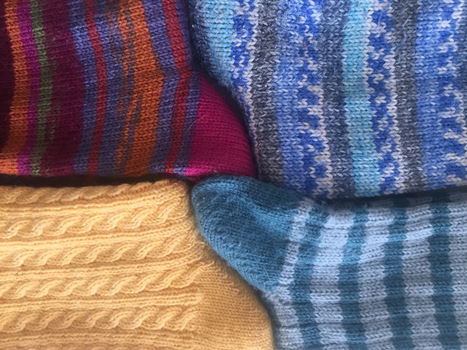 Finished projects a go go — socks socks socks | Spinning, Weaving and Knitting | Scoop.it