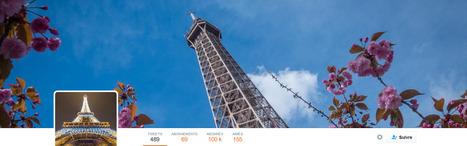 [DOSSIER CLIC] La Tour Eiffel a gagné 20.7% d'abonnés Twitter en mai 2016, réalisant pour le quatrième mois consécutif la plus importante croissance du Top 40 Twitter. | Clic France | Scoop.it