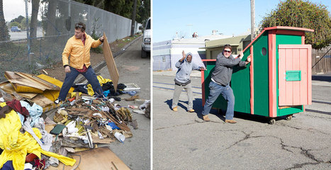This Artist Turns Trash Into Homes For The Homeless | Economy | Scoop.it