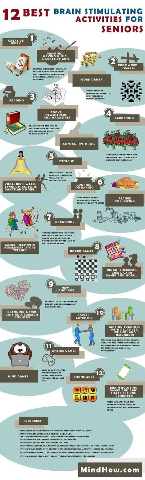 12 Best Brain Stimulating Activities for Seniors | Brain Health Tips | Scoop.it
