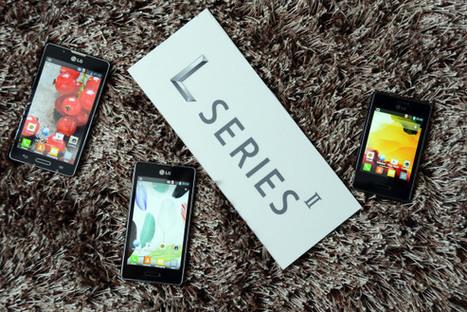 LG Optimus L7 II, L5 II and L3 II unveiled at MWC 2013 | WorldGeek | Scoop.it