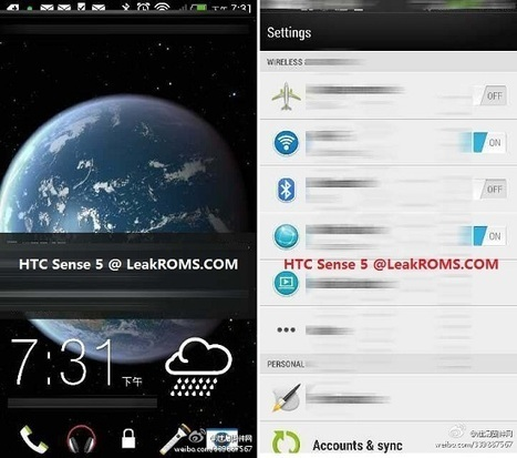 HTC Sense 5 arayüzü ile ilgili yeni görüntüler ortaya çıktı | teknomoroNews | Scoop.it