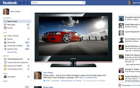 Facebook TV - Watch & Socialise ur fave video shows without ever having to leave Facebook - informitv - | Pervasive Entertainment Times | Scoop.it
