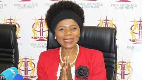 Accused Of Being A CIA Spy Again: Does South Africa's Public Protector Have The Worst Job In The World? | Africa : Commodity Bridgehead to Asia | Scoop.it