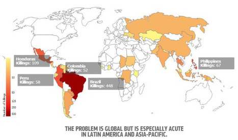 ¿Cuántos más? Cada semana mueren asesinados dos activistas medioambientales en el mundo | Agua | Scoop.it