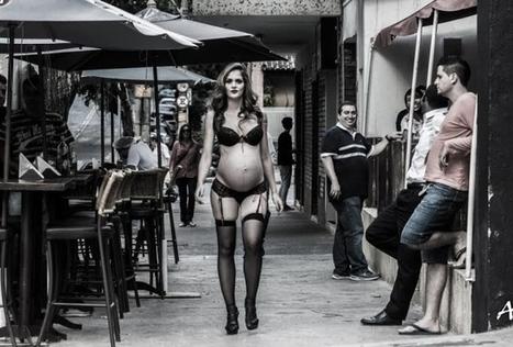 Gestante é ofendida no Lourdes após ensaio fotográfico de lingerie | Pensata | Scoop.it