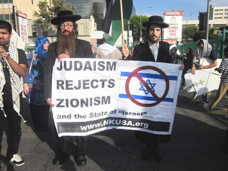 Anti-Zionist Orthodox Jews Participate in Al-Quds Day Rally - Los Angeles 2 Aug 2013 | Religious Jewish extremists oppose The State of Israel | Scoop.it