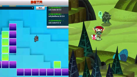 Three Video Games That Teach Programming Through Play | Games and education | Scoop.it