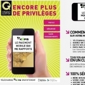 Le centre commercial Grand Quartier récompense le paiement sans contact | usage de la mobilité dans la distribution en France | Scoop.it