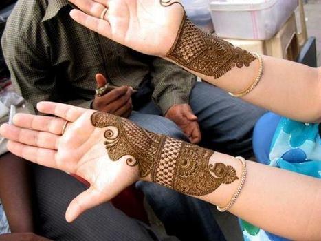 Simple Arabic Mehndi Designs 2014 | Beautiful Mehndi Designs and Jewellery Collection | Scoop.it