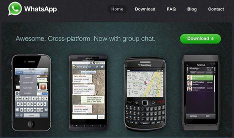 WhatsApp s'approche du milliard d'utilisateurs   Communication in progress   Scoop.it