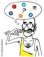Les réseaux sociaux expliqués en BD | Le petit monde des Médias Sociaux | Scoop.it