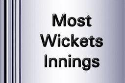Most Wickets innings in Test Cricket   ICC World Twenty20   Scoop.it