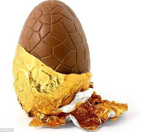 REAL reason we love Easter eggs more than regular chocolate revealed | Kickin' Kickers | Scoop.it