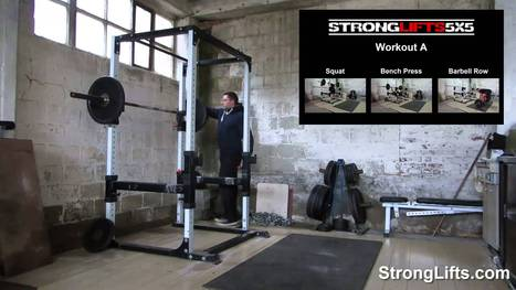 Get Stronger With The StrongLifts 5x5 Routine   Fitness   Scoop.it