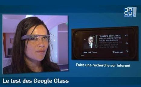 VIDÉO. «Google Glass», comment ça marche? | Geeks | Scoop.it