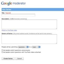 How Moderator Works - Google Moderator Help Center | Higher Ed Technology | Scoop.it