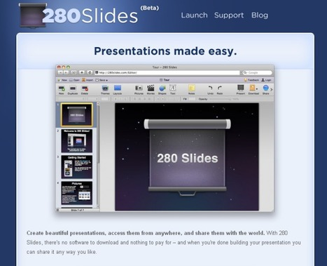 An Online Tool To Create & Share Unique Presentations(PPTs) With Videos, Audios & Images For Free | Prc_Lee | Scoop.it