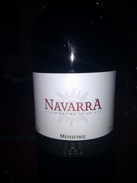 #vinhoDaNoite 3 Navarra Mezquiriz Reserva 2004 | Flickr - Photo Sharing! | #vinhodanoite | Scoop.it