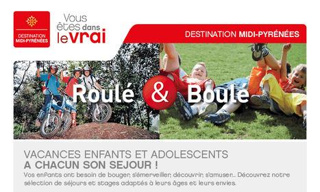 Enfants et adolescents - Tourisme en Midi-Pyrénées | Actus tourisme | Scoop.it