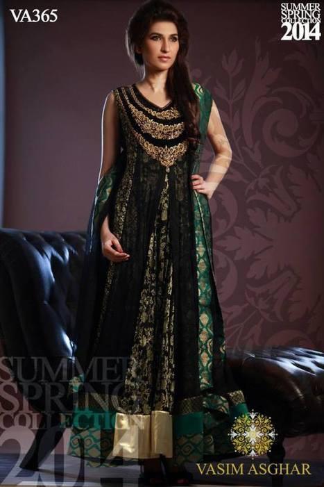 Vasim Asghar Spring/Summer Collection 2014 | Women Dresses | Scoop.it