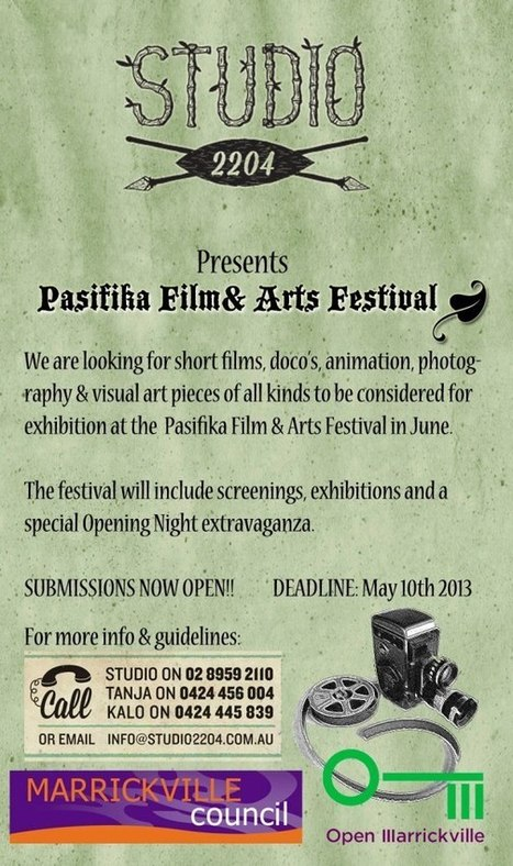 Pasifika Film & Arts Festival   Art of the Pacific   Scoop.it