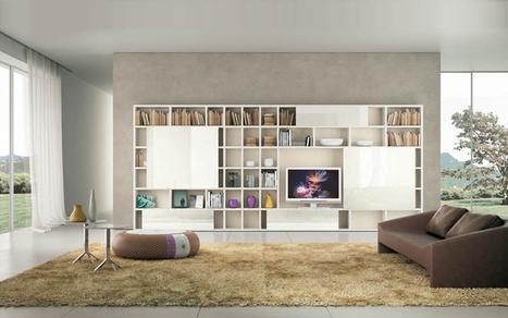 Tủ tường, giá sách | Đồ dùng phòng làm việc | Scoop.it