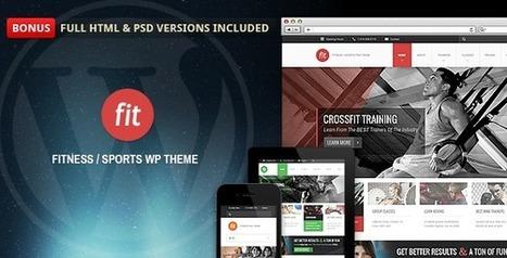 FIT - Fitness/Gym Responsive WordPress Theme | Wordpress | Scoop.it
