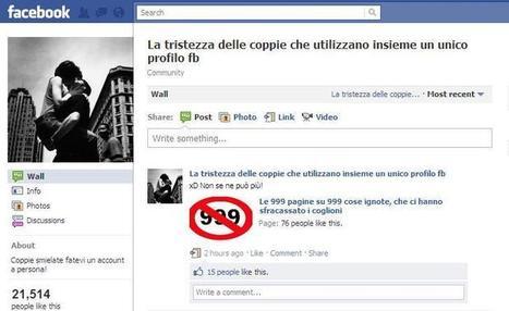 L'amore al tempo di Facebook [INFOGRAFICA] | Social media | Scoop.it