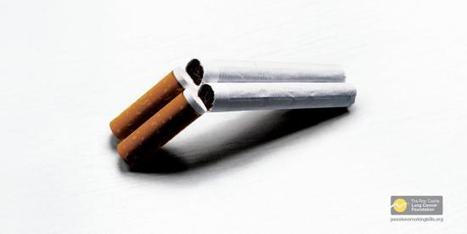 Journée mondiale sans tabac : les affiches les plus choquantes | Publicités choc par Aude Crémonèse | Scoop.it