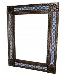 Hand Made Tin/Tile Mirror - Copper finish | Furniture and Pottery | Scoop.it