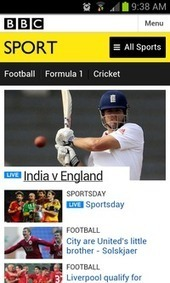 BBC uses responsive design for new mobile Sport site   Digital design and build   Scoop.it