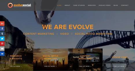 Evolve Social New Website Launched  | Social Media Strategist | Scoop.it